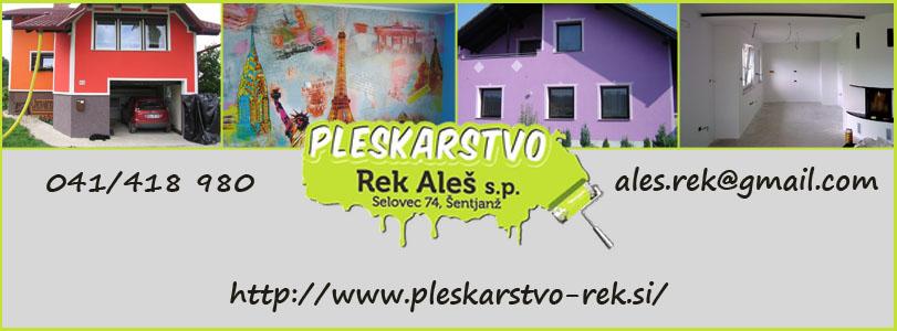Pleskarstvo Aleš Rek s.p.