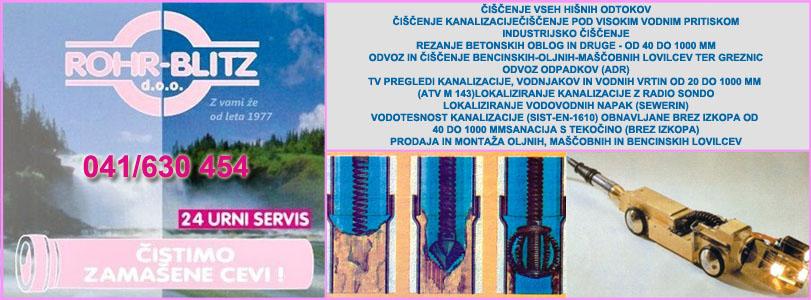 ROHR-BLITZ zaščita okolja in komunalne storitve Sevnica d.o.o.