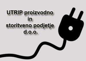 logo,UTRIP proizvodno in storitveno podjetje d.o.o.