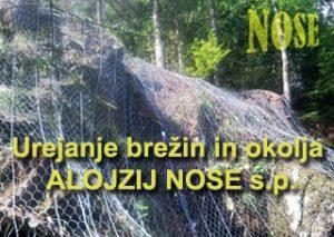 logo,Urejanje brežin in okolja ALOJZIJ NOSE s.p.