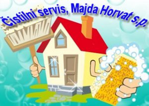 logo,cistilni servis, Majda Horvat s.p.