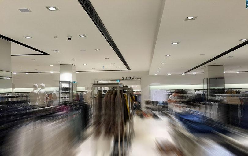 MGS PLUS, montažni gradbeni sistemi, d.o.o. suhomontaža trgovina Zara