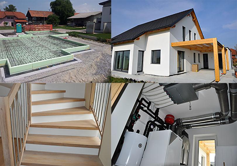 ZELENA GRADNJA, organizacija, gradnje in posredništvo, d.o.o. hiša na ključ Žalec