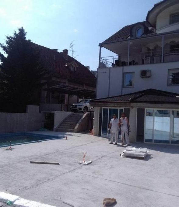 DRUGA ZAKLJUČNA GRADBENA DELA REFIK KERANOVIĆ s.p. urejanje okolice polaganje tapet