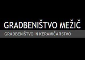 gradbenistvo mezic,logo
