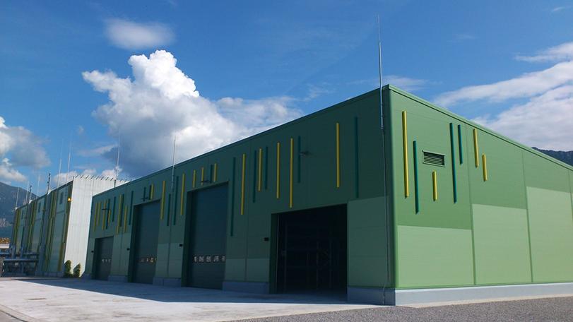 gradnja skladiščne hale TOMORI ARHITEKTI d.o.o., Projektiranje in celostno oblikovanje prostora