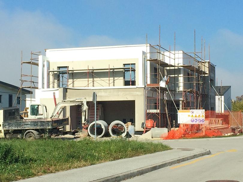 gradnja faza gradnje TOMORI ARHITEKTI d.o.o., Projektiranje in celostno oblikovanje prostora