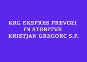 logo,KRG EKSPRES PREVOZI IN STORITVE KRISTJAN GREGORC S.P.