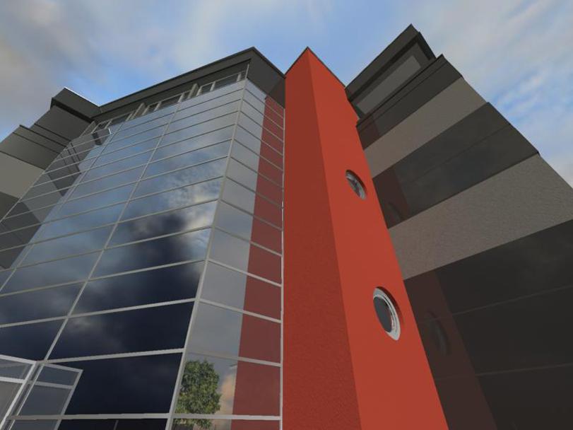 načrtovanje skladiščno poslovnega objektaTOMORI ARHITEKTI d.o.o., Projektiranje in celostno oblikovanje prostora