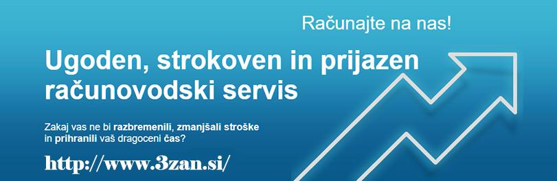 RAČUNOVODSKI SERVIS 3 ZAN D.O.O.