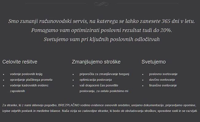 AURIS, računovodske storitve, Monika Juhant s.p. RAČUNOVODSKI SERVIS