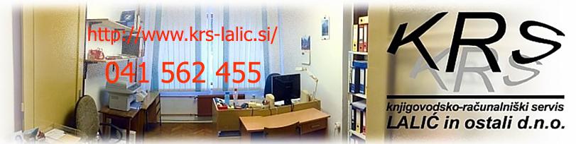 KRS LALIĆ in ostali, knjigovodsko - računalniški servis d.n.o.