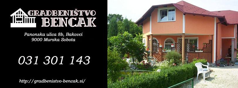 GRADBENIŠTVO BENCAK UROŠ BENCAK s.p.