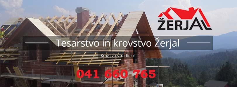 KROVSTVO TESARSTVO ŽERJAL, TOMAŽ ŽERJAL S.P.,KROVSTVO_ZERJAL_banner